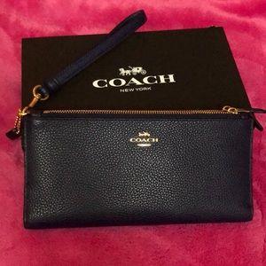 NEW Coach Double Zip Wallet